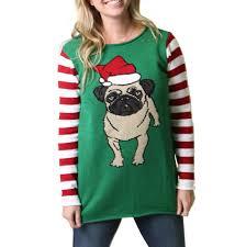 pug sweater s pug sweater tunic sweater kit
