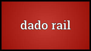 dado rail meaning youtube