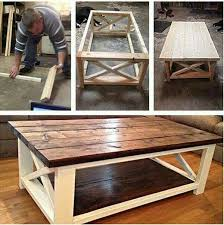 Making A Small End Table by Great Space Saver For A Small Closet Or Room Coffee Pallets