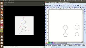 designing chemical structure using chemsketch acd labs software