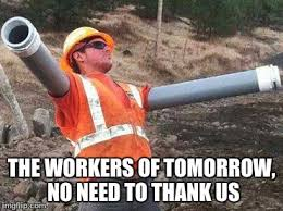 Construction Memes - double arm construction worker imgflip