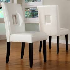 Black And White Upholstered Chair Design Ideas Chair Design Ideas White Upholstered Dining Chairs Ideas