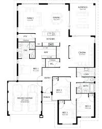 one storey house plans 5 bedroom two house plans single house design floor