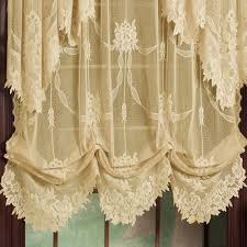 garland lace window treatment