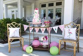 bridesmaid luncheon ideas kara s party ideas lilly pulitzer inspired tropical bridal