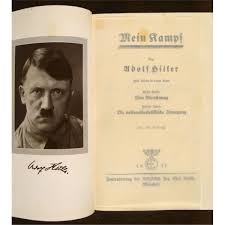original 1937 edition of adolf u0027s mein kampf