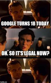 Birthday Memes 18 - happy birthday google imgflip