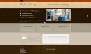 Independent Kitchen Designer Website Portfolio Seed Internet Solutions