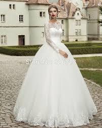 brautkleid spitze langarm vestido de noiva princesa vintage langarm spitze