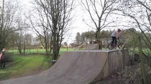 bmx backyard ramp session youtube