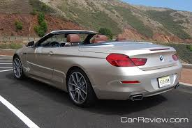 bmw 6 series convertible review 2012 bmw 650i convertible review the all 2012 6 series is