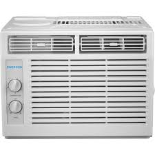 Small Window Ac Units Emerson Quiet Kool 5 000 Btu 115 Volt Window Air Conditioner