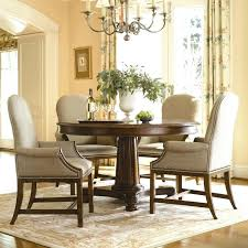 dining table round dining table upholstered chairs glass kincaid