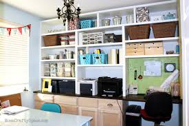 Craft Room Office - craft room reveal mostly finished happiness is homemade