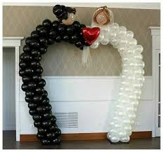 wedding arch balloons 195 best wedding and anniversary balloons images on