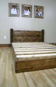 How To Build A Bed Frame And Headboard Reclaimed Wood Bed Frame Plans Bed Frame Katalog D8e828951cfc