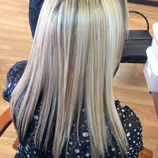 black low lights for grey gray hair with dark blonde random photos blonde and brown