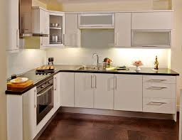 Kitchen Glass Door Cabinet Kitchen With Dark Grey Cabinets And Glass Cabinet Doors Glass With