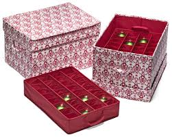 christmas ornament storage box ornament storage container with safely christmas ornament