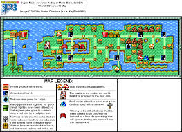 Super Mario World Map by Super Mario Advance 4 Super Mario Bros 3 World 4 Overworld Map