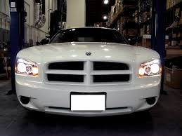 2008 dodge charger lights dodge charger projector headlights halo led 05 06 07 08 09 6
