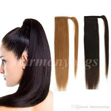 22 inch hair extensions top quality 100 human hair ponytail 20 22inch 100g 4 brown