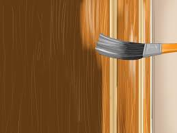 how to paint an ordinary garage door to look like a wood garage door