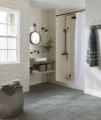 Floor Tile For Bathroom Ideas Best 25 Cream Tile Floor Ideas On Pinterest Cream Bathroom