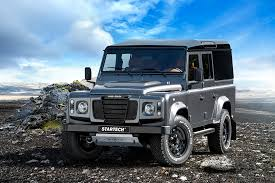 land rover defender 2015 black land rover defender startech sixty8 by brabus hiconsumption