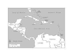 Map Of Jamaica Blank by Maps Of The Americas Page 2