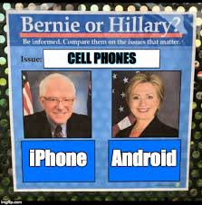 Meme Maker For Android - bernie or hillary imgflip