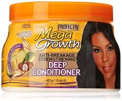 Best Deep Conditioner For Colored Natural Hair Amazon Com Profectiv Mega Growth Anti Breakage Strengthening Deep