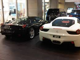 pink chrome ferrari malaysia supercar ferrari italia 458 black and white in kl
