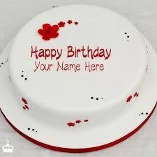 the birthday cake wish birthday cake with name