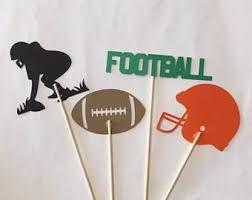 football decorations football party decorations football birthday printable