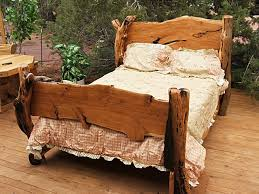 bed frame rustic wood bed frames crtfznvt rustic wood bed frames
