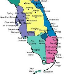 Florida Map Of Cities And Counties Map Of Florida With Cities World Map