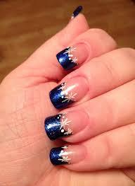 french tip nails makeup mani pedi and winter nails