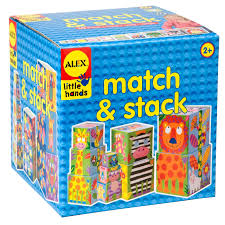 alex toys little hands match and stack alexbrands com