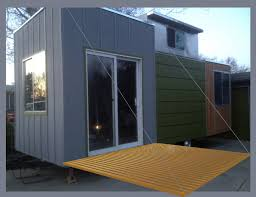 Tiny House Deck by The Adventure Of Turning An Old Camper Into A Tiny House On Wheels