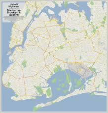 Harlem Map New York by Maps Show How Robert Moses Would Have Destroyed The City With