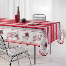 nappe style montagne nappe service table nappage antitache rectangle 150x240 cm bistrot