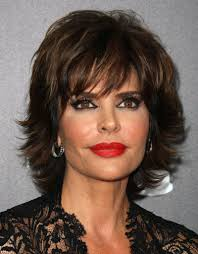 what is the texture of rinnas hair lisa rinna in 39th annual daytime entertainment emmy awards