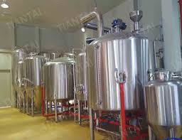 3000l craft beer brewing equipment in korea asia brewery