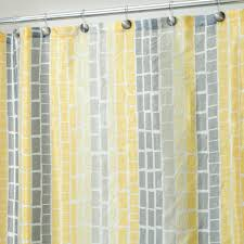 Gray And Yellow Chevron Shower Curtain by Chevron Shower Curtain Yellow And Grey U2022 Shower Curtain Ideas