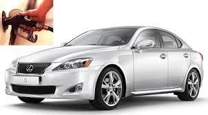 fuel consumption lexus is250 lexus is fuel consumption per gallon or litres km cars