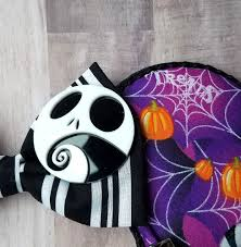 halloween town comfortears hat and mouse