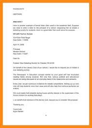 format of the formal letter image collections letter format examples
