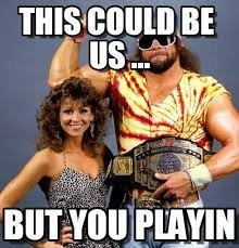Randy Savage Meme - macho man randy savage miss elizabeth wwe ic chion