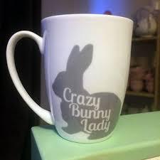 Crazy Mugs by Crazy Bunny Lady Bone China Mug Bunny Rabbit And Bun Bun